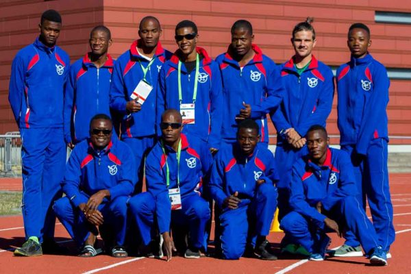 Berlin Para Athletics Grand Prix 2018 team Namibia
